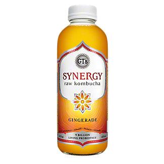 GT's Enlightened Organic Raw Gingerade Kombucha, 16.2 oz