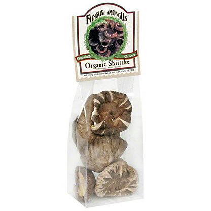 FungusAmongUs Dried Mushrooms Organic Shitake, 1 oz