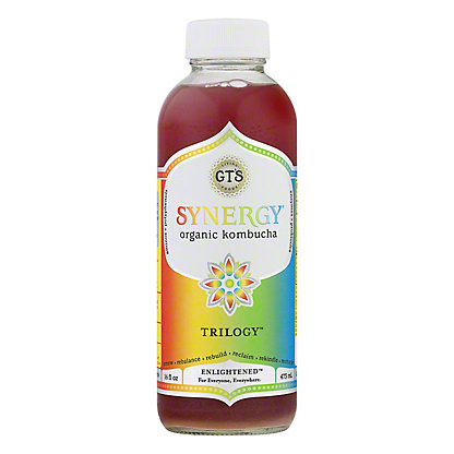 GT's Enlightened Synergy Organic and Raw Trilogy Kombucha, 16.2 oz