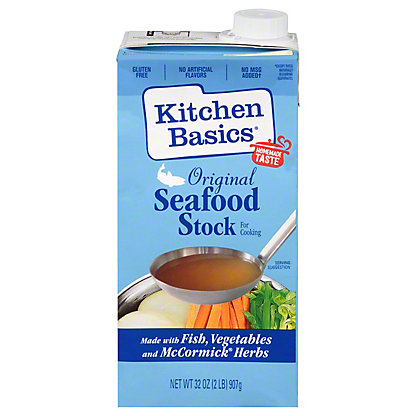 Kitchen Basics Original Seafood Cooking Stock, 32 oz
