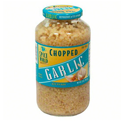 Spice World Chopped Garlic,32 OZ