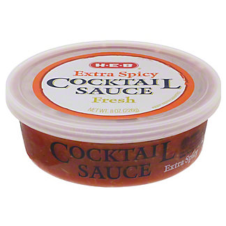 H-E-B Fresh Extra Spicy Cocktail Sauce,8 OZ