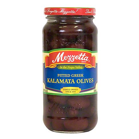 Mezzetta Imported Pitted Calamata Olives, 9.5 OZ