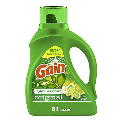 Gain HE Original Liquid Laundry Detergent 100 oz, 100 oz