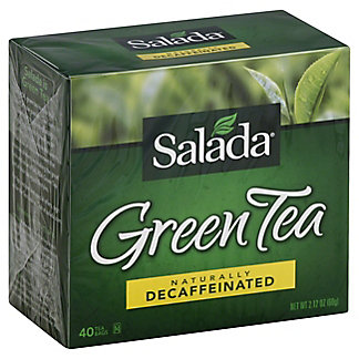 Salada Salada Naturally Decaffeinated Green Tea Bags,40.00 ea