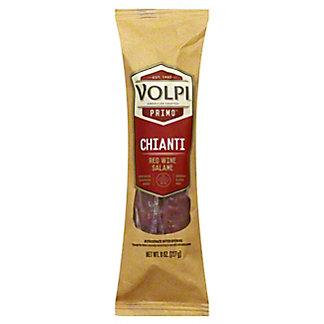 Volpi Chianti Red Wine Salami, 8 oz