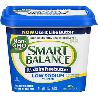 Smart Balance Smart Balance Low Sodium Whipped Buttery Spread,13 oz