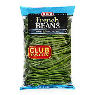 H-E-B French Green Beans,2 LBS