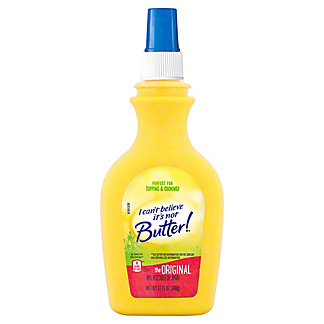 I Can't Believe Its Not Butter Original Vegetable Oil Spray,12.00 oz