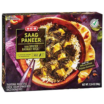 Central Market Taste of India Saag Paneer Medium,12.3 OZ
