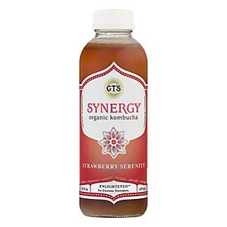 GT's Enlightened Synergy Strawberry Serenity Kambucha,16 OZ