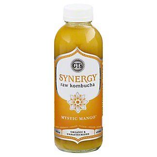 GT's Enlightened Synergy Mystic Mango Kombucha, 16 oz