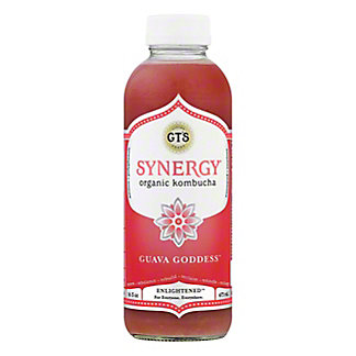 GT's Enlightened Synergy Guava Goddess Kombucha, 16.2 oz