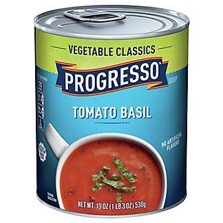 Progresso Vegetable Classics Tomato Basil Soup,19 OZ