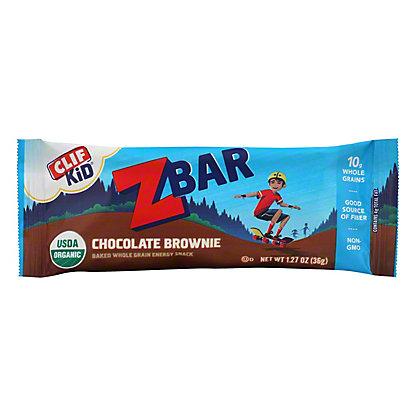 Clif Kid Organic Chocolate Brownie Z Bar,1.27 oz