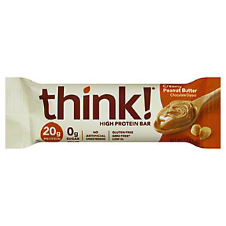 thinkThin Creamy Peanut Butter High Protein Bar,2.1 oz