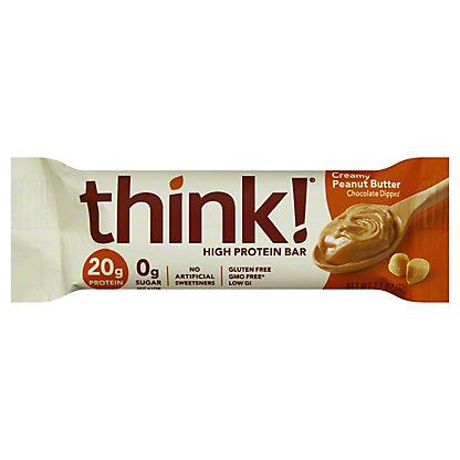 thinkThin Creamy Peanut Butter High Protein Bar,2.1 oz