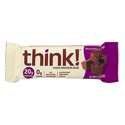 thinkThin Chocolate Fudge High Protein Bar,2.1 oz