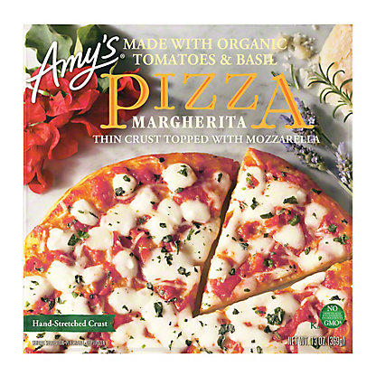 Amy's Margherita Pizza, 13 oz