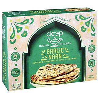 Deep Indian Kitchen Garlic Naan, 8 oz