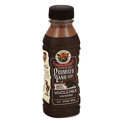 Promised Land Midnight Chocolate Whole Milk, 12 oz