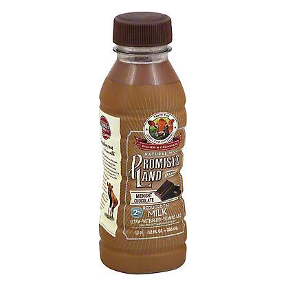 Promised Land Midnight Chocolate Reduced Fat 2% Milk, 12 oz