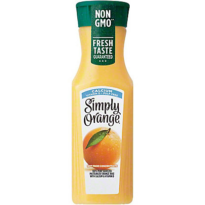 Simply Orange Pulp Free Orange Juice with Calcium & Vitamin D, 11.5 oz