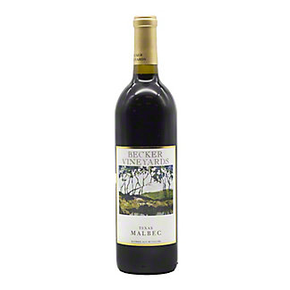 Becker Vineyards Malbec, 750 ML