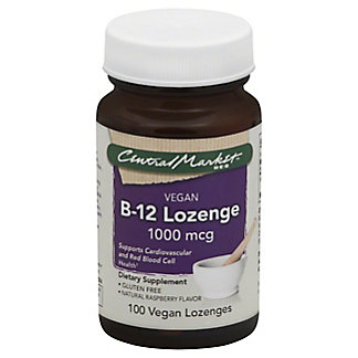 Central Market B-12 1000 mcg Vegan Lozenges,100 CT