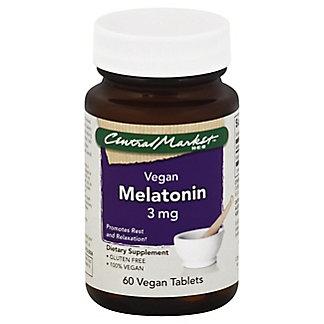 Central Market Melatonin 3 Mg Vegetarian Tablets,60 CT