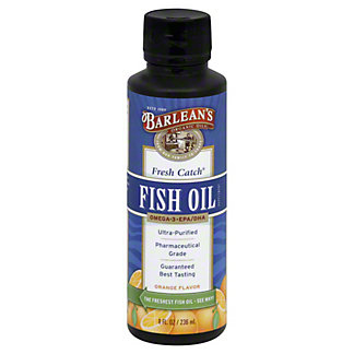 Barlean's Organic Oils Signature Fish Oil Orange, 8 OZ