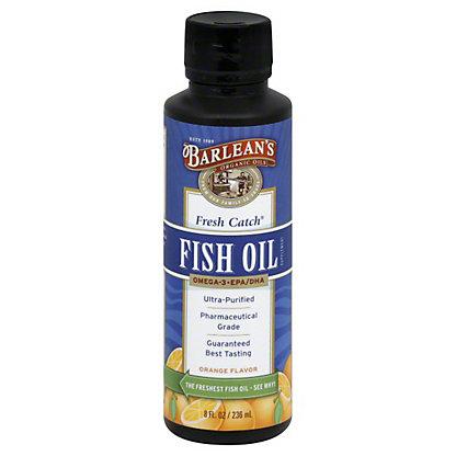 Barlean's Organic Oils Signature Fish Oil Orange, 8 OZ