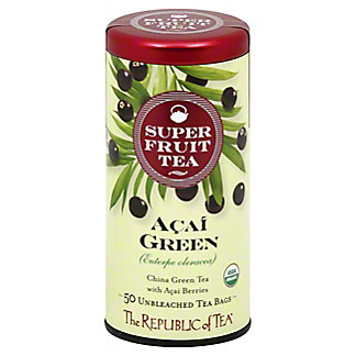 The Republic of Tea Açaí Green Tea Bags, 50 ct