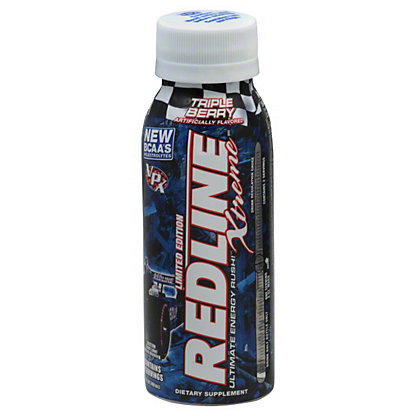 VPX Redline Xtreme Triple Berry Ultimate Energy Rush Drink,8 OZ