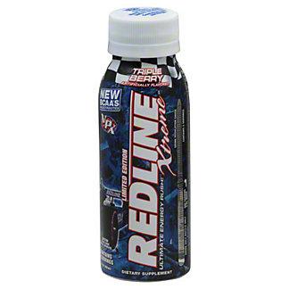 VPX Redline Xtreme Triple Berry Ultimate Energy Rush Drink,8 OZ