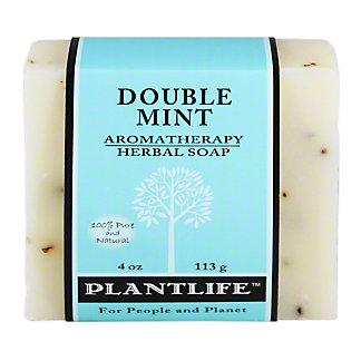 Plantlife Double Mint Soap Bar, 4 OZ