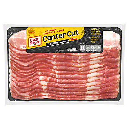 Oscar Mayer Center Cut Original Bacon, 12 oz