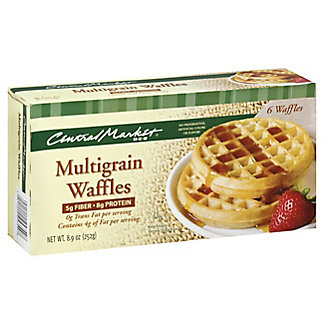 Central Market Central Market Multigrain Waffles,6 ct.