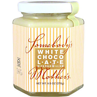 Somebody's Mother's White Chocolate Pear William Sauce, 9.5 OZ