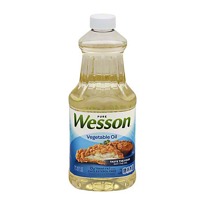 Wesson Vegetable Oil,48 OZ
