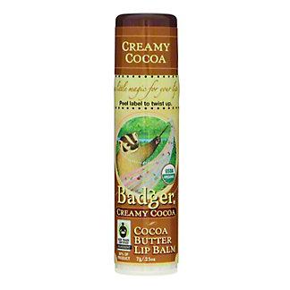 Badger Creamy Cocoa - Cocoa Butter Lip Balm,EACH