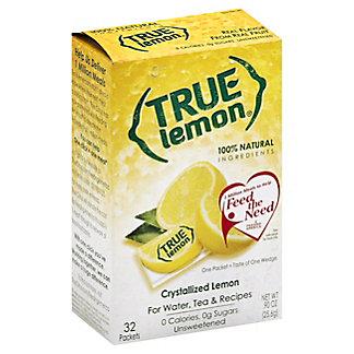 True Lemon Crystallized Lemon, 32 ct