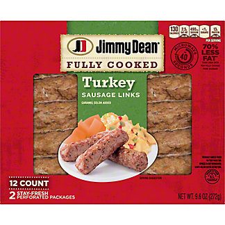 Jimmy Dean Turkey Sausage Links,9.6 OZ