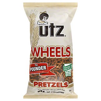 Utz Wheels Pretzels,16.00 oz