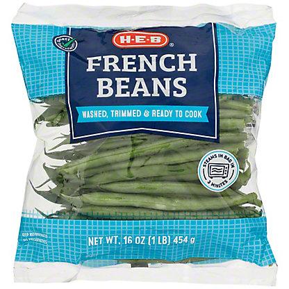 H-E-B French Beans, 16 oz