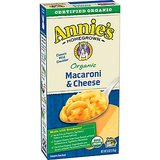 Annie's Homegrown Organic Classic Macaroni and Cheese, 6 oz