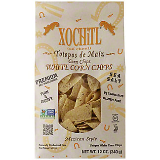 Xochitl White Corn Chips, 12 oz