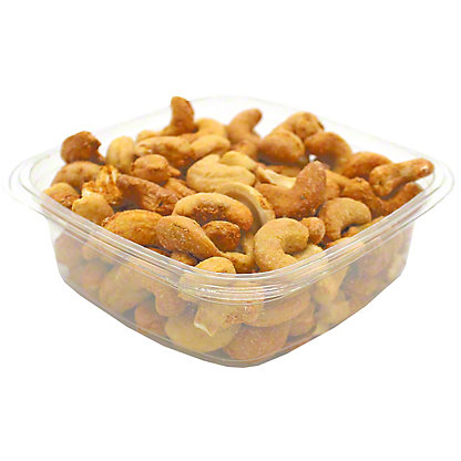 Bulk Roasted garlic cashews,LB