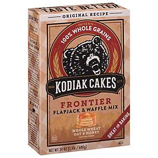 Kodiak Cakes Whole Wheat Oat & Honey Frontier Flapjack And Waffle Mix, 24 oz