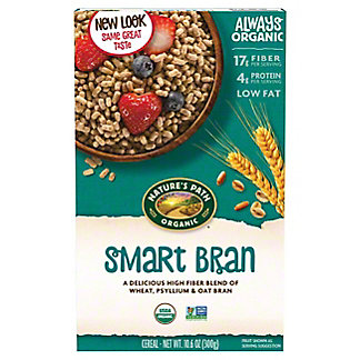 Nature's Path Organic Smart Bran With Psyllium and Oatbran Cereal, 10.6 oz